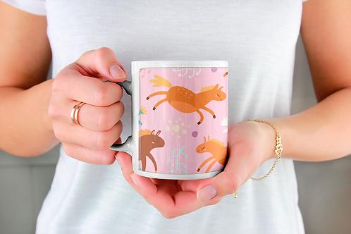 Стилна чаша за кафе с илюстрации на Еднорог-вар.30