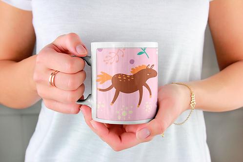 Стилна чаша за кафе с илюстрации на Еднорог-вар.29 -Безплатна доставка