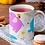 Thumbnail: Чаша за кафе с илюстрации на Слончета - вариант 18