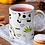 Thumbnail: Чаша за кафе със стилни илюстрации на Жирафи-вар.12