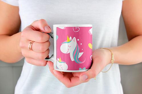 Стилна чаша за кафе с илюстрации на Еднорог-вар.27 -Безплатна доставка