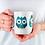 Thumbnail: Стилна чаша за кафе с оригинални илюстрации на Птици - вар.18