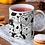 Thumbnail: Стилна чаша за кафе с илюстрации на кучета - вариант 13