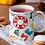 Thumbnail: Стилна чаша за кафе с оригинални илюстрации на Риби - вар.8