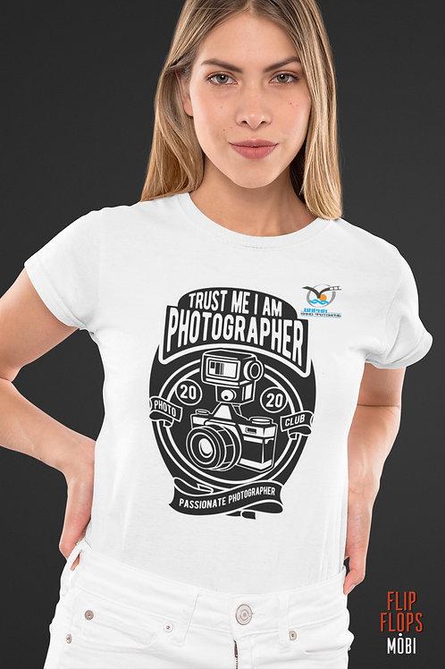 Клубна Фотографска тениска - TRUST ME, I'M PHOTOGRAPHER - Безплатна доставка.