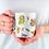 Thumbnail: Стилна чаша за кафе с оригинални илюстрации на Птици - вар.4