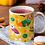 Thumbnail: Чаша за кафе с илюстрации на кучета - вариант 15