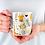 Thumbnail: Чаша за кафе със стилни илюстрации на Жирафи-вар.16