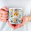 Thumbnail: Чаша за кафе със стилни илюстрации на Жирафи-вар.19