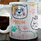 Thumbnail: Стилна чаша за кафе с илюстрации на котки - вариант 5