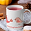 Thumbnail: Стилна чаша за кафе с оригинални илюстрации на Птици - вар.6