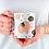 Thumbnail: Чаша за кафе с илюстрации на Слончета - вариант 7