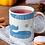 Thumbnail: Стилна чаша за кафе с оригинални илюстрации на Риби - вар.18