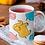 Thumbnail: Чаша за кафе с илюстрации на Слончета - вариант 9