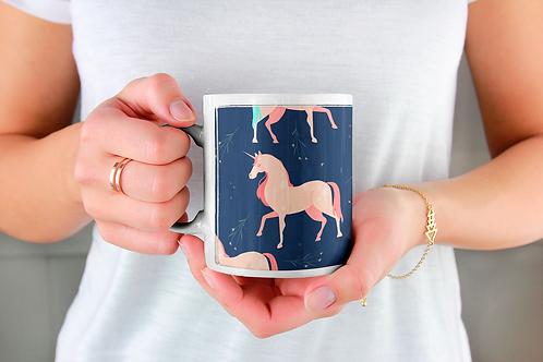Стилна чаша за кафе с илюстрации на Еднорог-вар.7 -Безплатна доставка