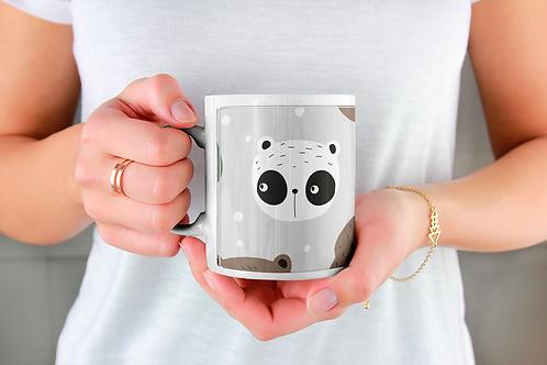 Стилна чаша за кафе с илюстрации на Мечки-вар.5 -Безплатна доставка