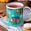 Thumbnail: Стилна чаша за кафе с оригинални илюстрации на Риби - вар.21