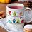 Thumbnail: Стилна чаша за кафе с оригинални илюстрации на Птици - вар.3