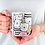 Thumbnail: Чаша за кафе със стилни илюстрации на Котки-вар.13