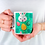 Thumbnail: Стилна чаша за кафе с илюстрации на Зайци-вар.6