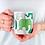 Thumbnail: Чаша за кафе с илюстрации на Слончета - вариант 22