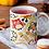 Thumbnail: Чаша за кафе със стилни илюстрации на Жирафи-вар.15