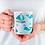 Thumbnail: Стилна чаша за кафе с оригинални илюстрации на Риби - вар.4