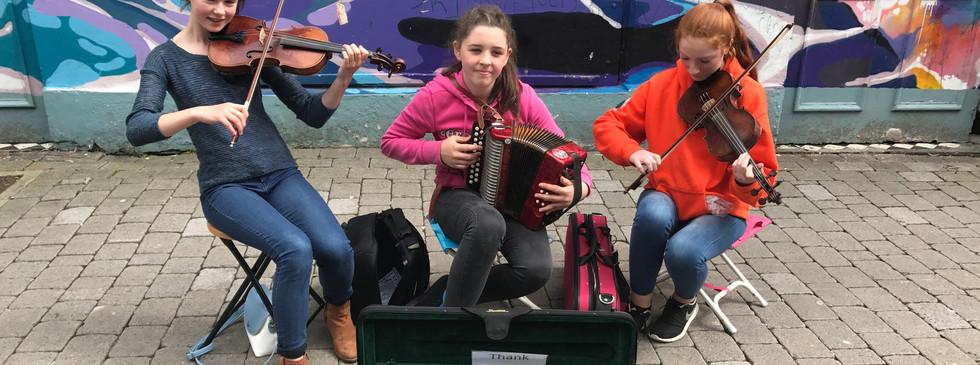 Street musicians, Kilkenny