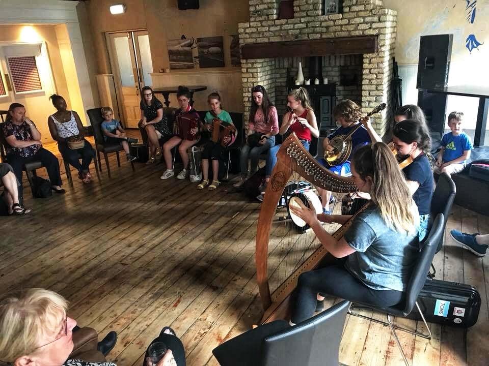 Irish musicians, Listowel, County Kerry