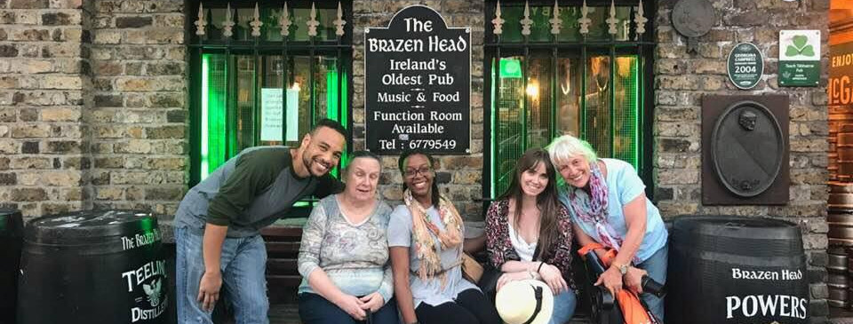 Brazen Head Pub, Dublin (dating to 12th century!)