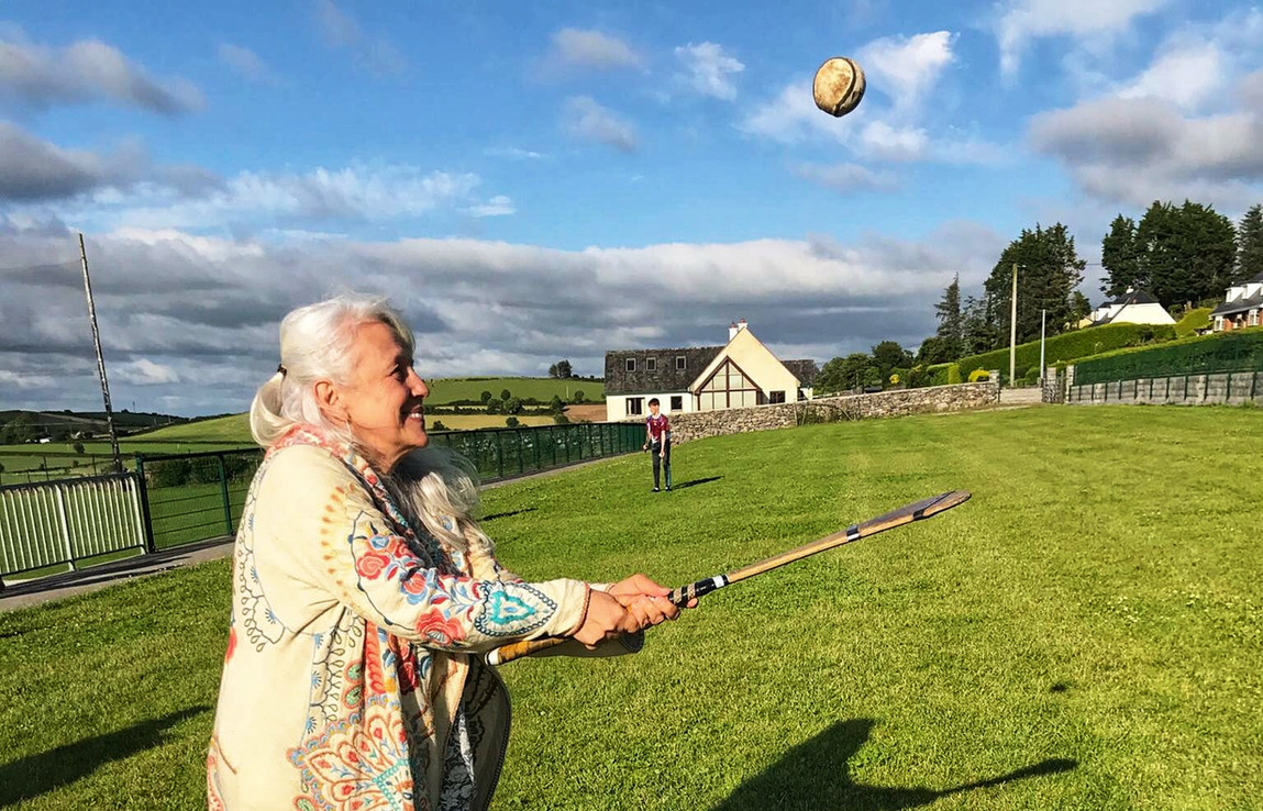 Hurling!  Ireland's ancient, national sport