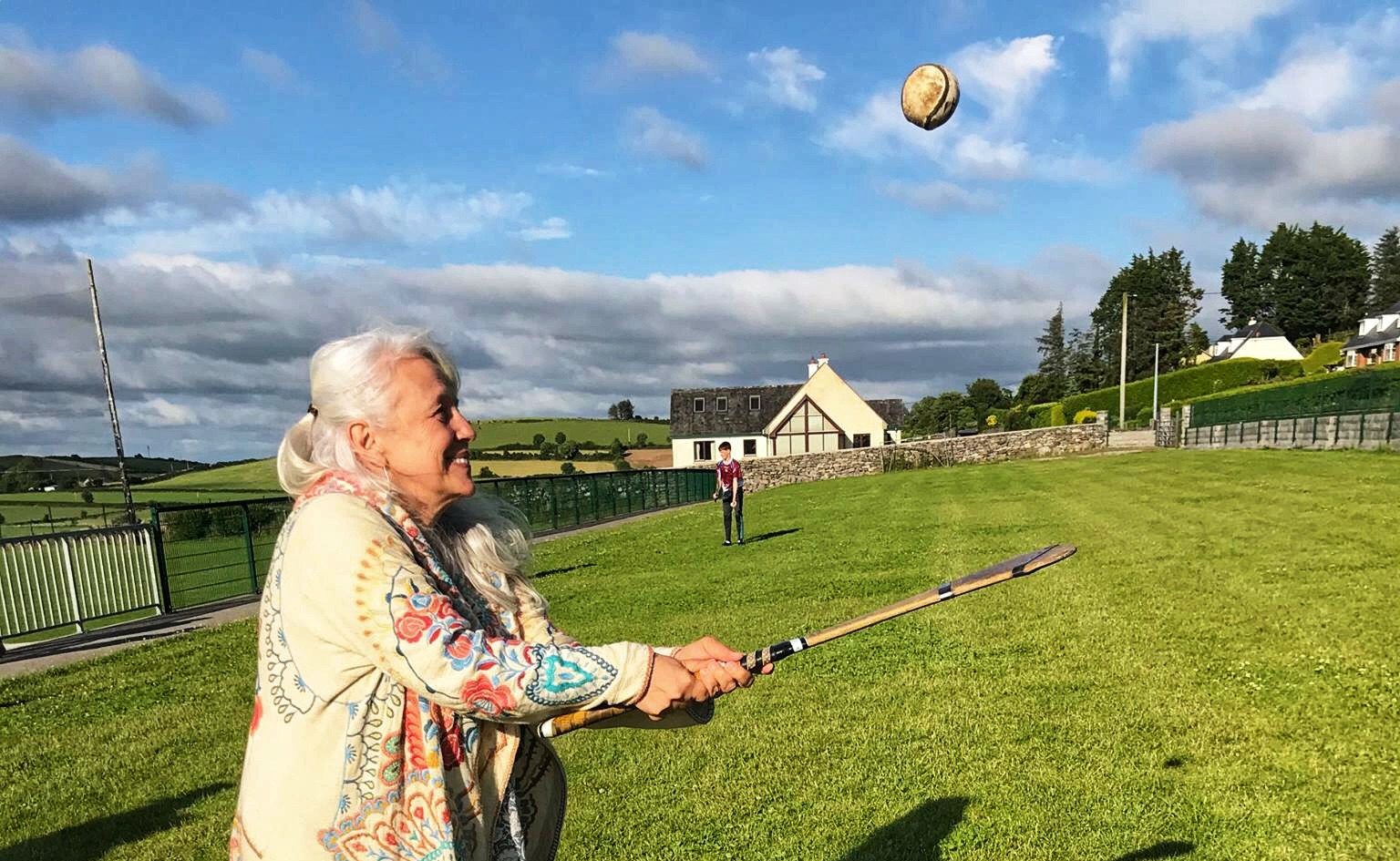 Hurling!  Ireland's ancient, national sport