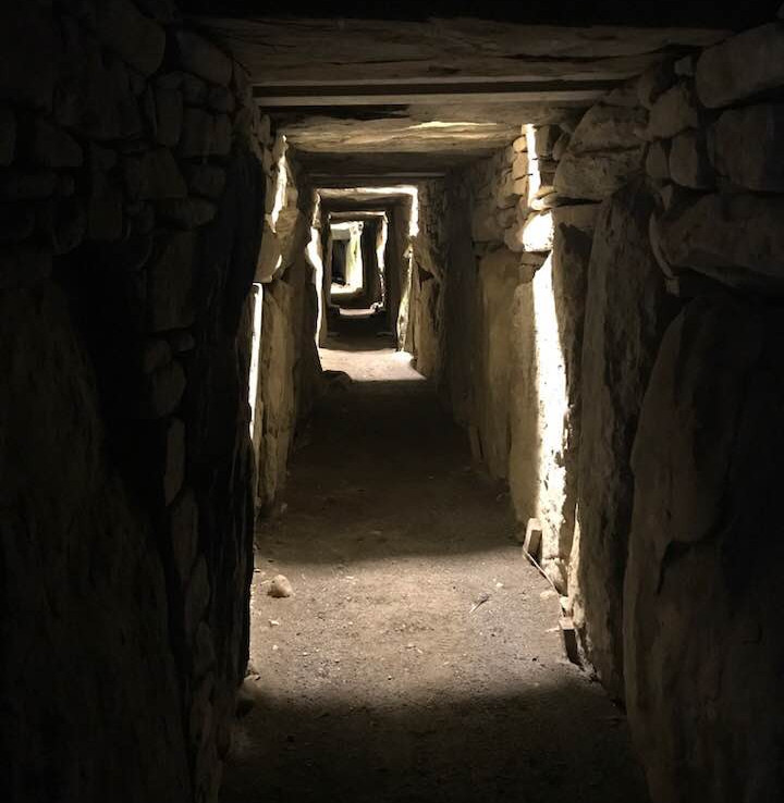 Neolithic Burial Mound at Knowth, Couny Meath