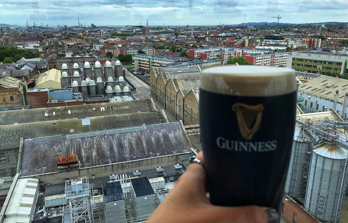 Gravity Bar, Guinness Storehouse, Dublin