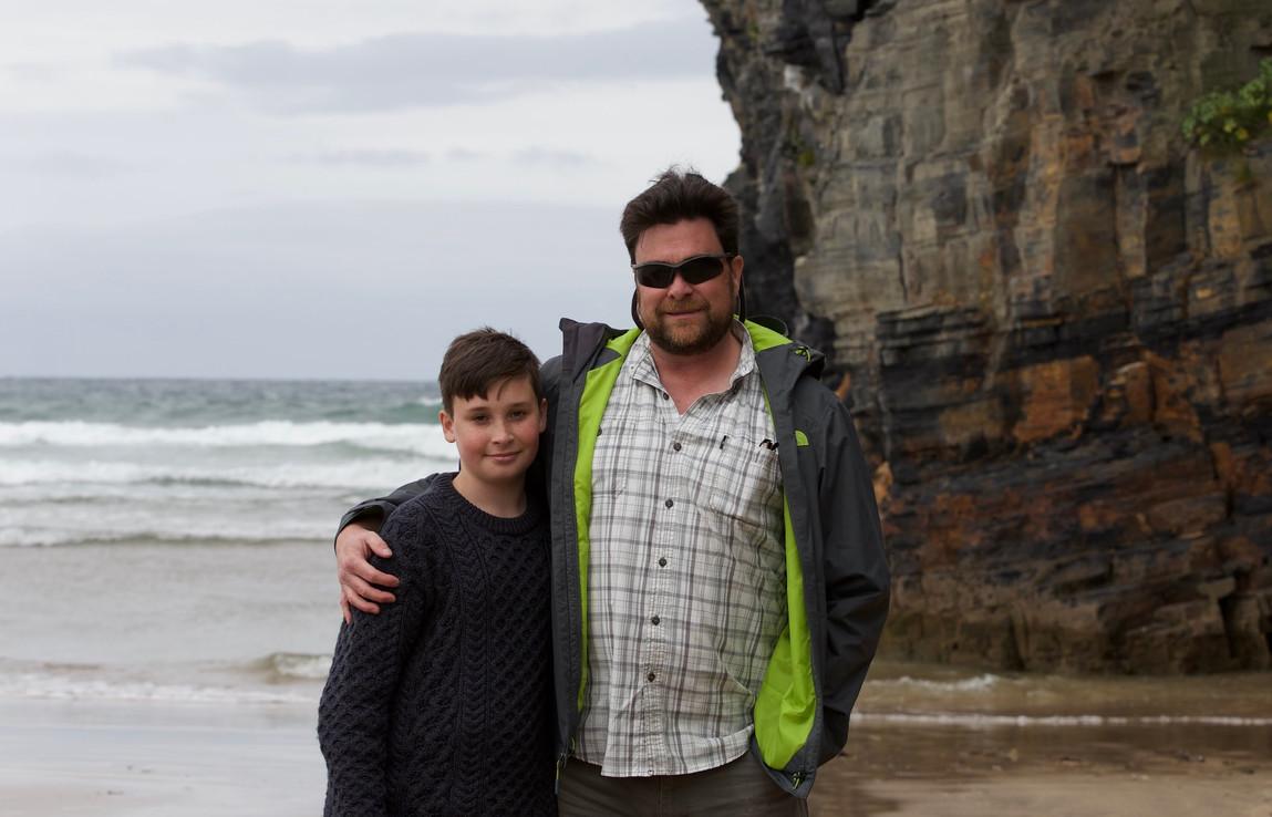 Beach at Ballybunion, County Kerry