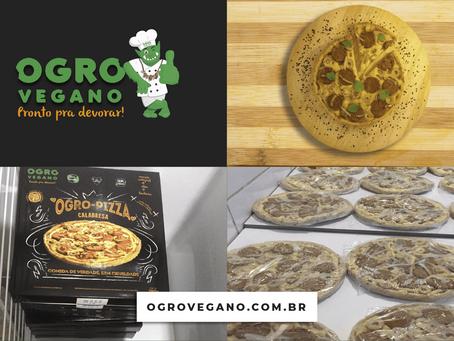 Já tem gente recebendo nossa Ogro-pizza®. Corre!