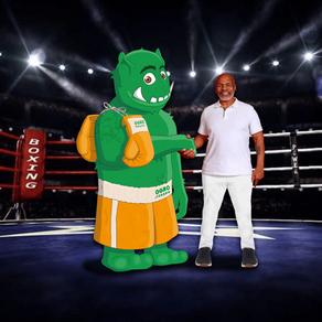 Sem se alimentar de animais, Mike Tyson retorna ao ringue.