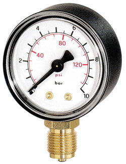 Pressure Gauge (Analog)