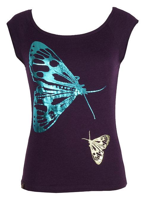 Bamboo Raglan – Butterfly Foil