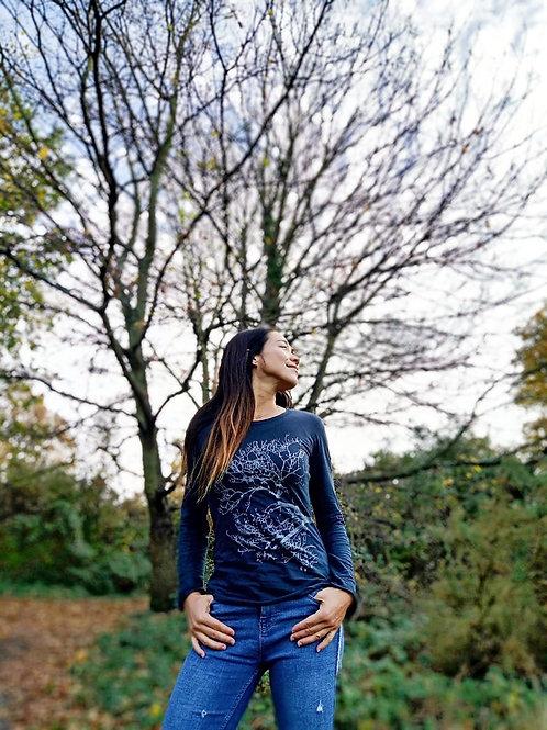 Long Sleeves Tunic - Tree/Breathe