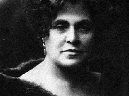 Birthday of the Yiddish theater actress Ester-Rochl Kamiṅska