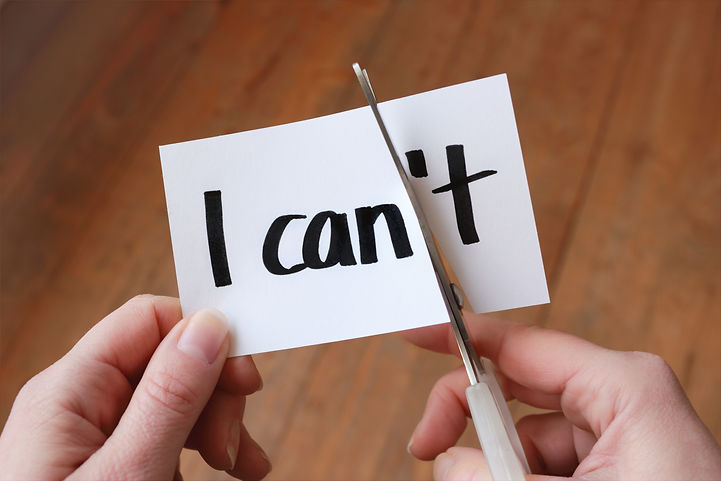I can self motivation - cutting the lett