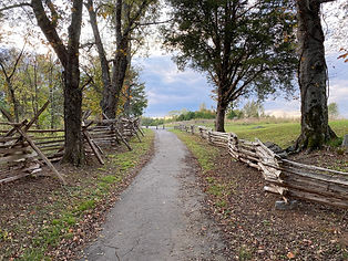 McFadden's farm city public civil war historic site and nature trail in Murfreesboro, TN.j