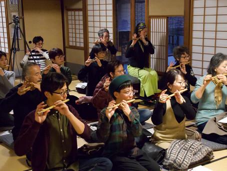 【授業レポート】《篠笛奏者・森田玲》編/今さら聞けない、伝統芸能「基本のキ」。