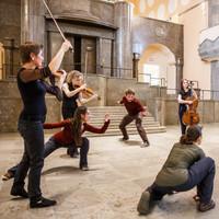 DASKwartett & TANZMOTO Dance Company  Synagoge Essen Foto: Volker Wiciok