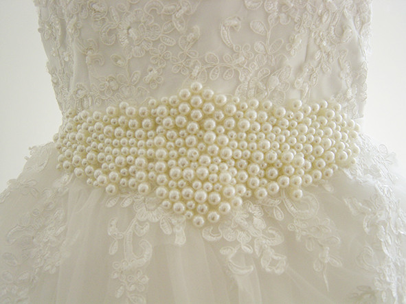 Perles brodées