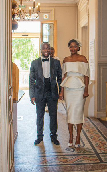 costume de mariage civil