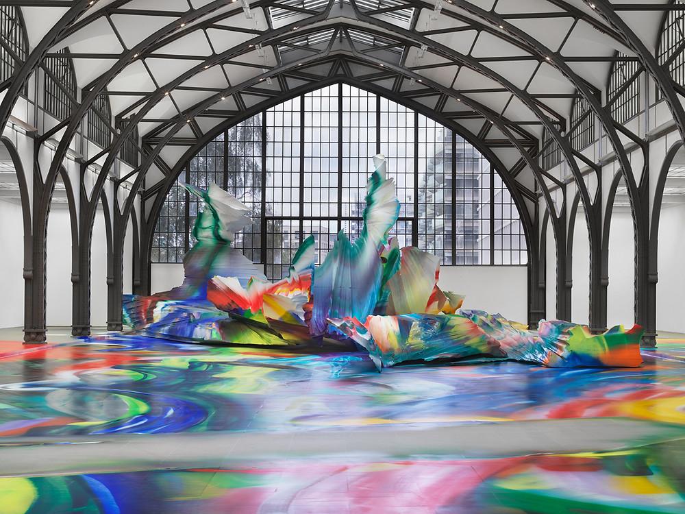 Ausstellungsansicht Katharina Grosse