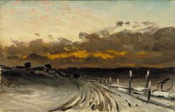 Fanny Churberg, Winterlandschaft, 1878,