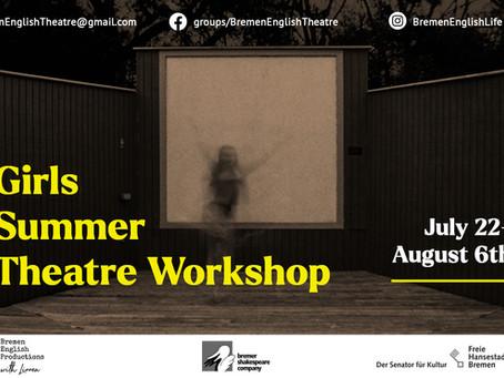 Girls* Summer Theatre Workshop: Was bringt das???